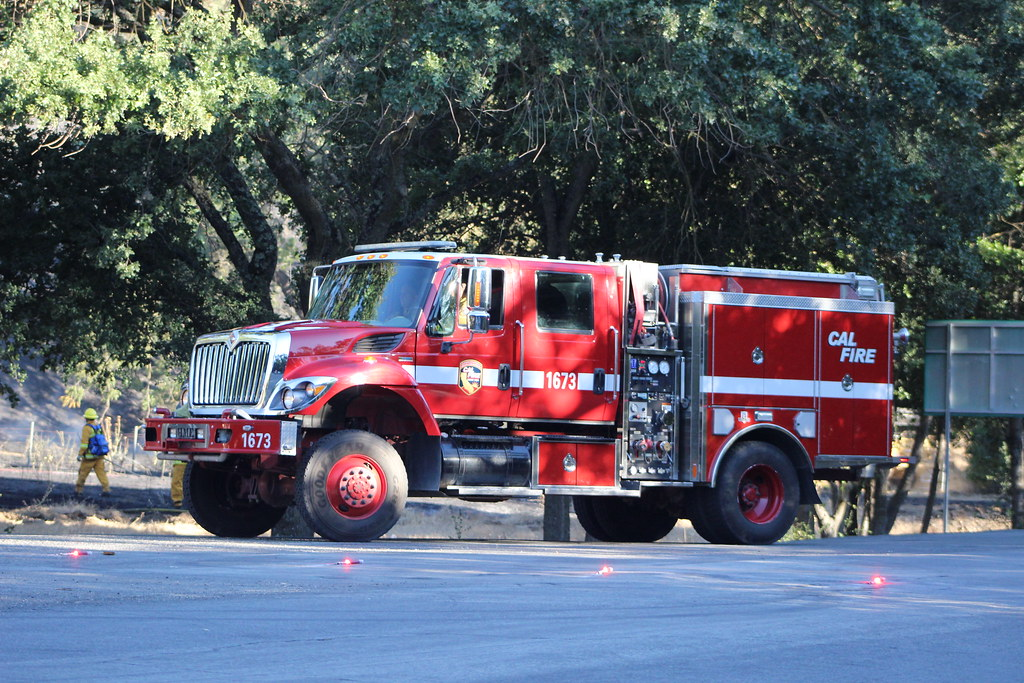 Cal Fire Engine 1673 At 6 02pm Today 07 04 15 Alameda C Flickr