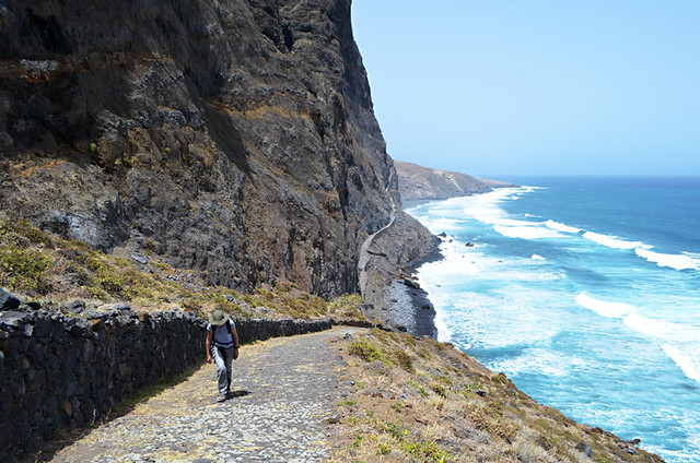 Cruzinha to Ponta do Sol route, Santo Antao, Cape Verde