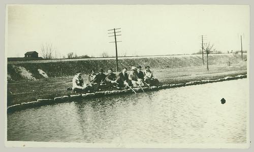 Group at waterside