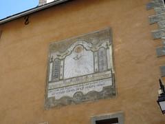 Sundial in Briançon