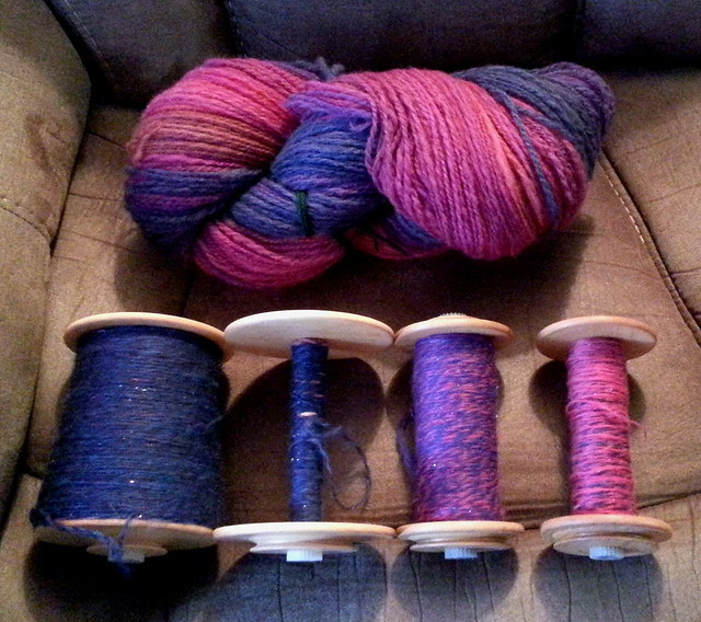 Tour de Fleece 2015 Finished Yarns