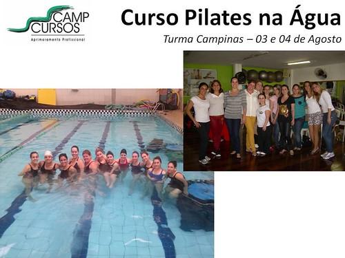 Pilates na Agua