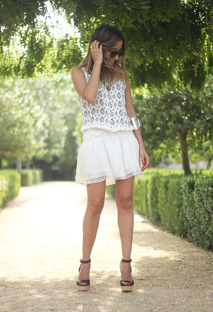 Black & White Summer Outfit Mango12
