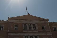 Parlamentsgebäude in Athen. Foto: Elisabetta Stringhi (CC BY 2.0)