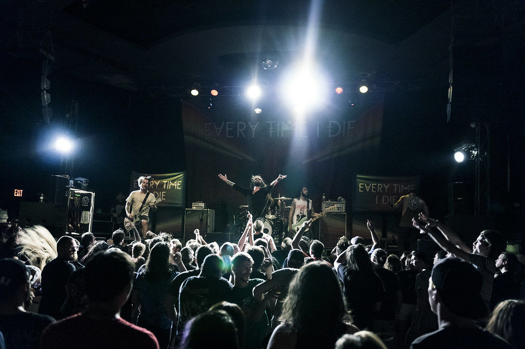 Every Time I Die at The Bourbon | 8-8-15
