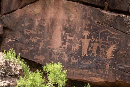 petroglyphs ninemilecanyon sunnyside utah unitedstates us