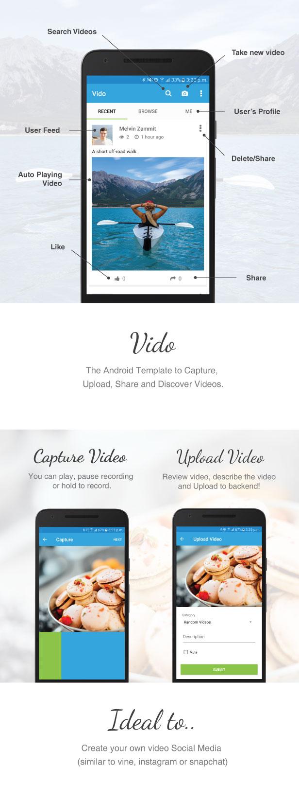NeuronDigital We Build Android App Templates - Video ad templates