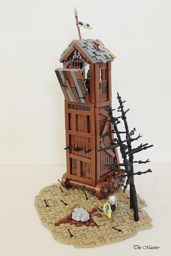 Avalonian siege tower | by ~The Maestro