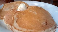 Butter Melting On Pancakes.