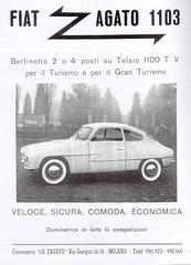 Fiat 1100-103 Zagato 1103 (1954)