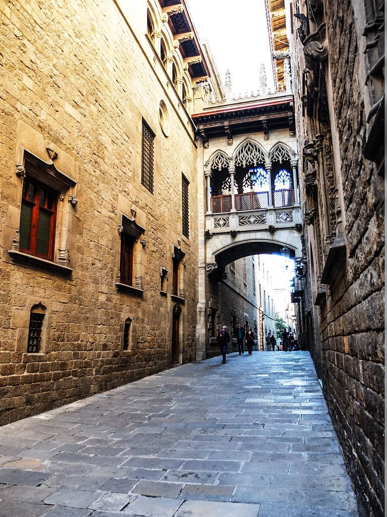 "Ciutat Vella ""The Old City"", Barcelona, Spain 