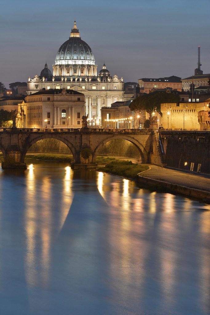 La Basilica di San Pietro e il Tevere - Nikon D7100