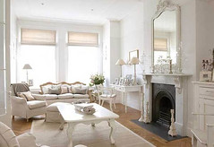 White Decorating, Beautiful Balham Home Interior Design Concepts