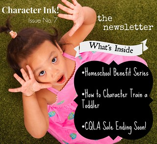 Character Ink Newsletter no. 7