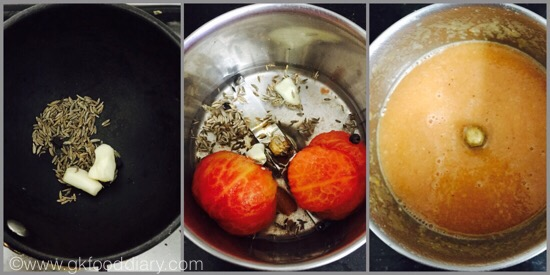 Tomato Rasam for Babies - step 2