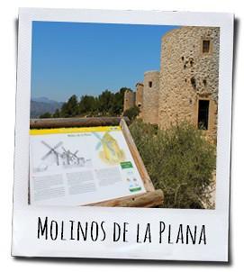 De graanmolens op de Cap de Sant Antoni in het Natuurpark El Montgó