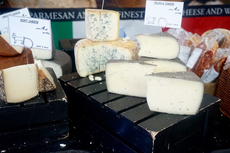 truffle cheese blue cheese gloucester food festival quays