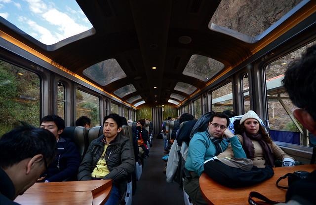 Tren Vistadome de Cuzco a Machu Picchu