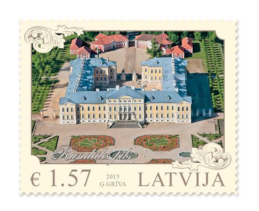 Latvijas arhitektūra – Rundāles pils