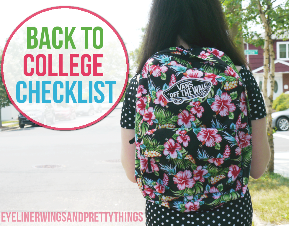 Back To College Checklist - Things To Do Before Fall Semester // ew&pt