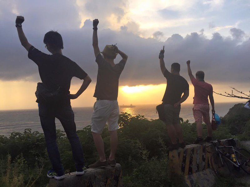 環島-西子灣-夕陽與猴子共舞 (51)
