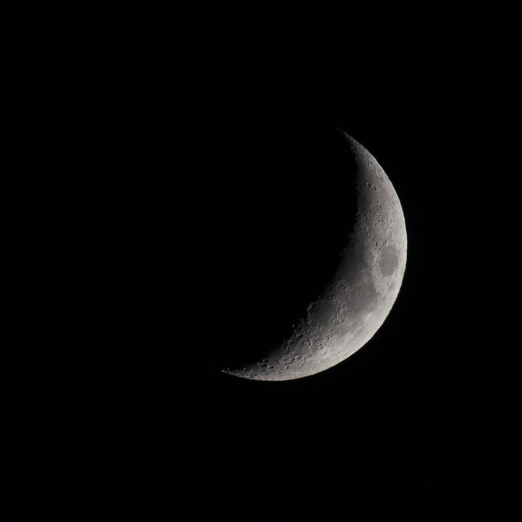 2015.07.21 Crescent Moon - 三日月