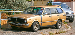 1979 Toyota Corolla (KE36) 5-door station wagon (modified)