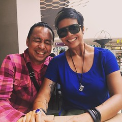 With the birthday boy. So yeah, we came to #kualalumpur to giggle. #twodays #lasthurrah #malaysia #jower #summer #besties