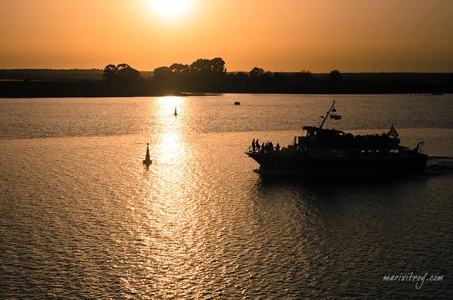 Canoa de Huelva a Punta