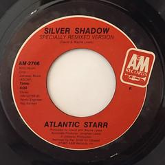 ATLANTIC STARR:SILVER SHADOW(LABEL SIDE-B)