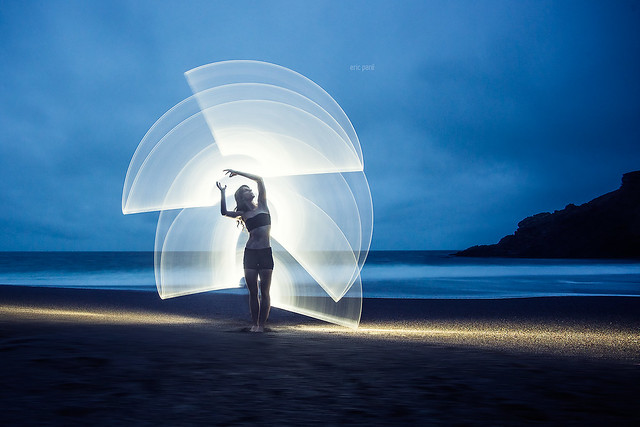 Light-painting with Kim Henry