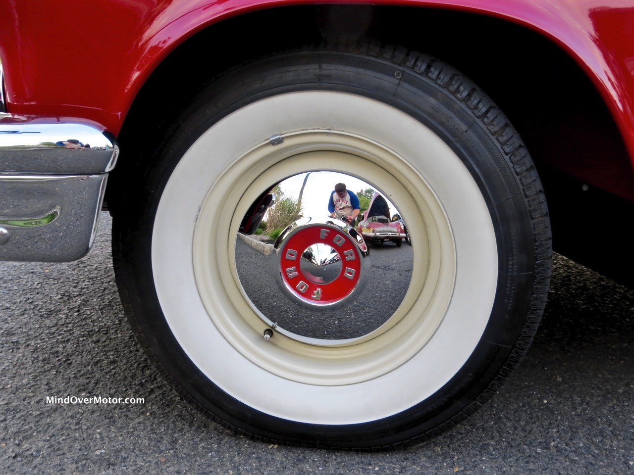 1957 Ford Thunderbird Wheel