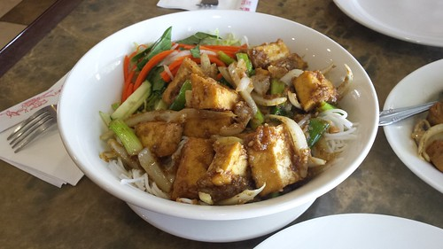 Lemongrass Tofu Vermicelli from Moonlight Cafe