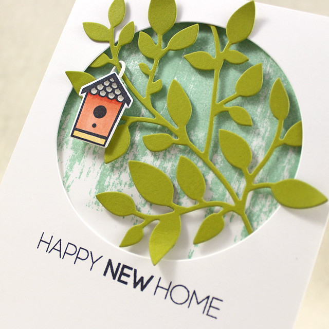 Happy New Home Close Up