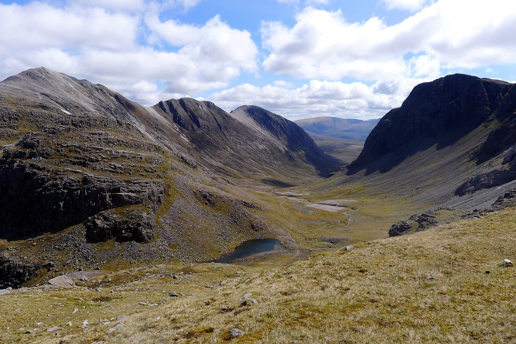 Looking into Coire Lair