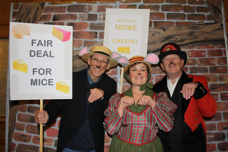 Mouse David, Andrea and Joe