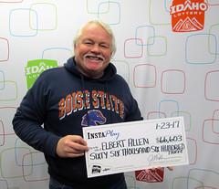 Elbert Allen - $66,603 InstaPlay Idaho Jackpot