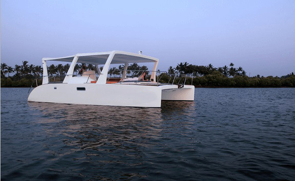 Catamaran Party Boat Goa