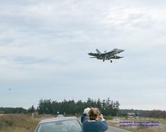 Enjoying the Field Carrier Landing Practice (FCLP)