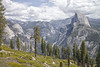 Half Dome (Panorama Trail view) by jeromefranck
