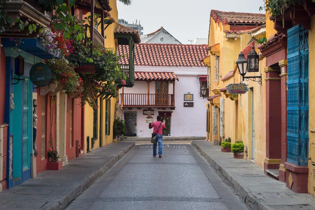 kantaja, Cartagena, Kolumbia