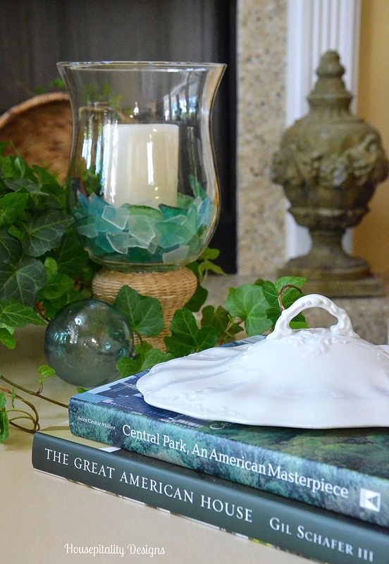 Coffee table vignette-Housepitality Designs
