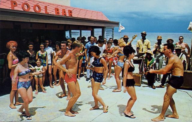 castaways motel pool bar miami beach florida