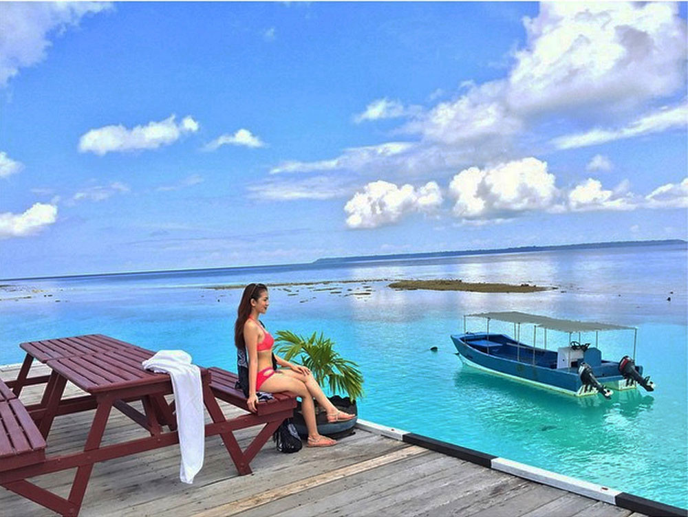 Featuring 5 Cool Water Bungalows And 8 Beach This Place Is Indeed A Sanctuary With Its Beautiful White Palm Sand Crystal Clear Waters