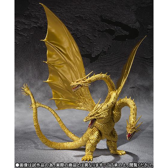 S.H.MonsterArts《哥吉拉對基多拉》王者基多拉 特別配色版本!