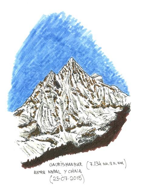 Gaursihankar (7.134 m.s.n.m.)
