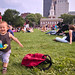 Independence Mall toddler stroll
