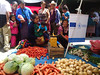Indigenous mothers shopping for fresh produce at the local market, with EU-funded allowance of 636 Guatemalan Quetzals (75 Euros) distributed by the World Food Programme.  Photo credit: ©WFP