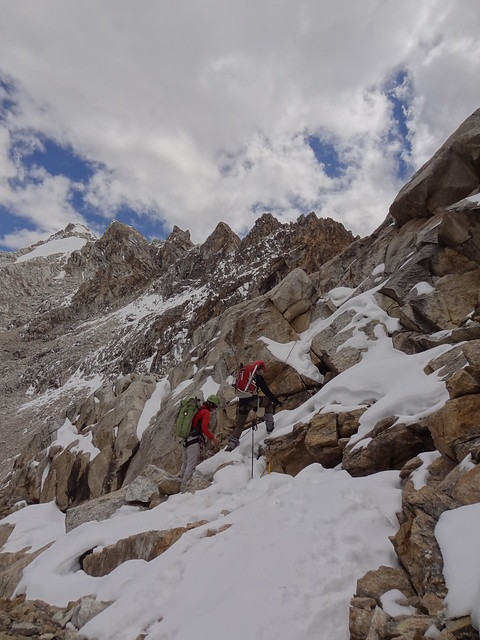 Highlights of the Cordillera Blanca Traverse: Roped up for the Aquillpo pass