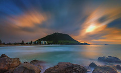 muzzpix-nz posted a photo:Facebook      500px    WebsiteTwas a bit breezy to say the least . The Mount from the rocks ...